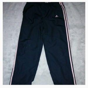 Large Adidas 3 stripe  pants